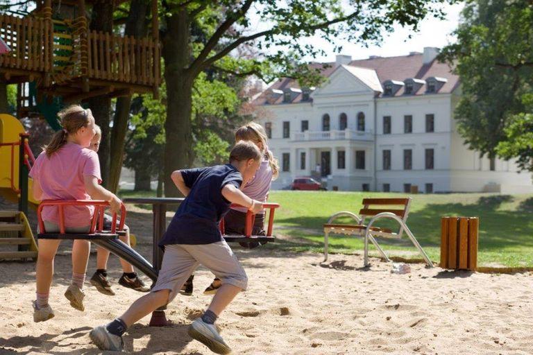 Plac zabaw dla dzieci - Hanza Pałac