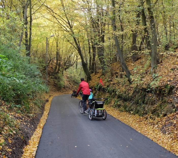 Wycieczka rowerowa z dziećmi - Dolina Będkowska