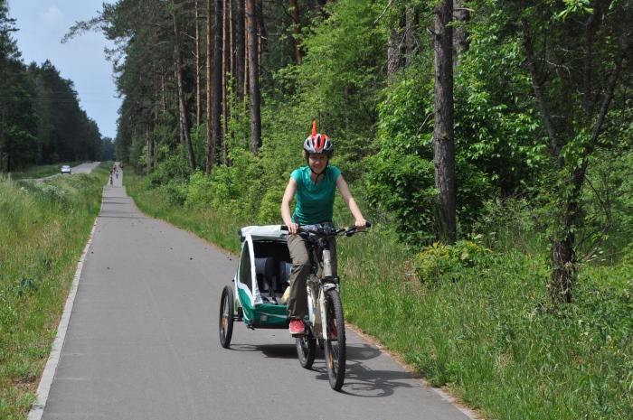 Wycieczka rowerowa z dziećmi - Augustów