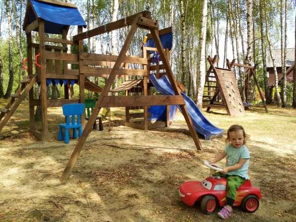 Pensjonat Modryna w Bieszczadach posiada świetne zaplecze dla dzieci