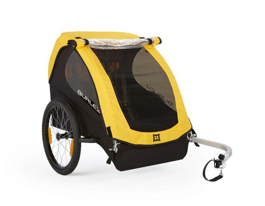 Przyczepka rowerowa dla dzieci Burley Bee.