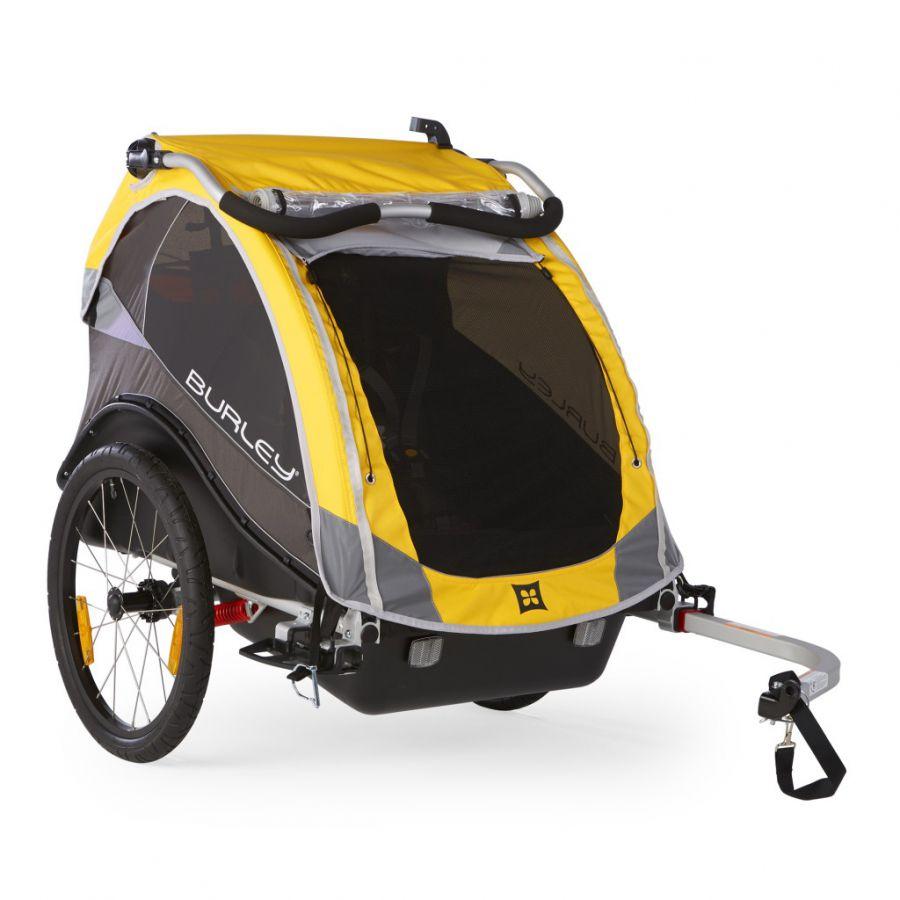Przyczepka rowerowa dla dzieci Burley Cub.