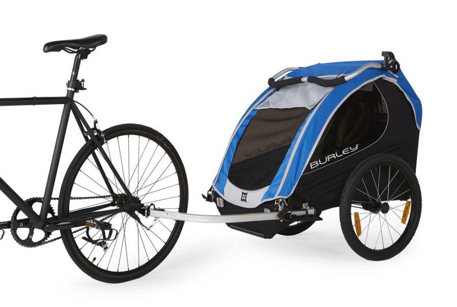Przyczepka rowerowa dla dzieci Burley Encore.