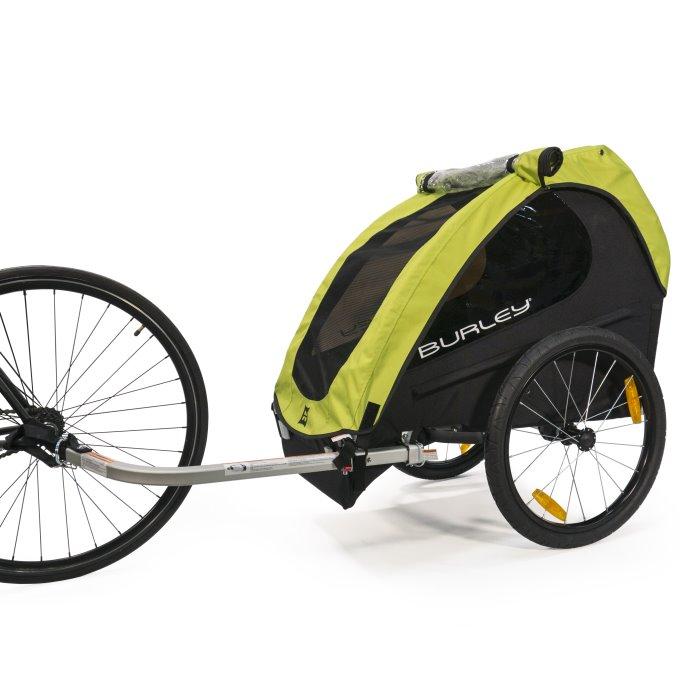 Przyczepka rowerowa dla dzieci Burley Minnow.