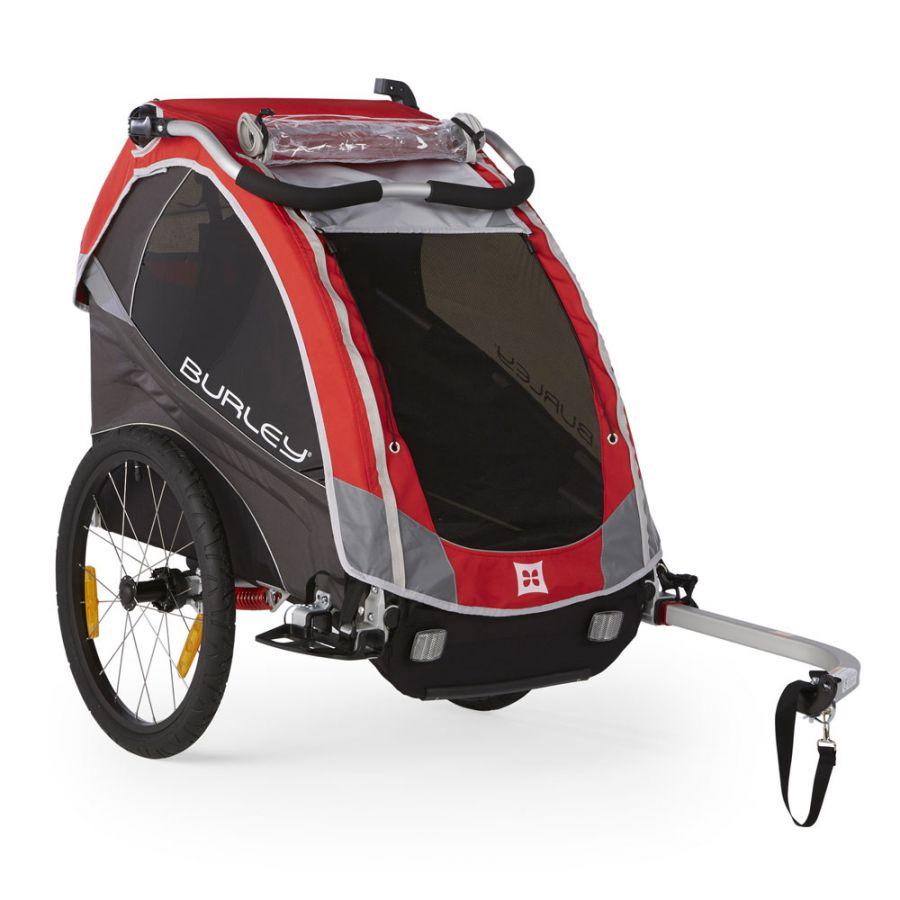 Przyczepka rowerowa dla dzieci Burley Solo.