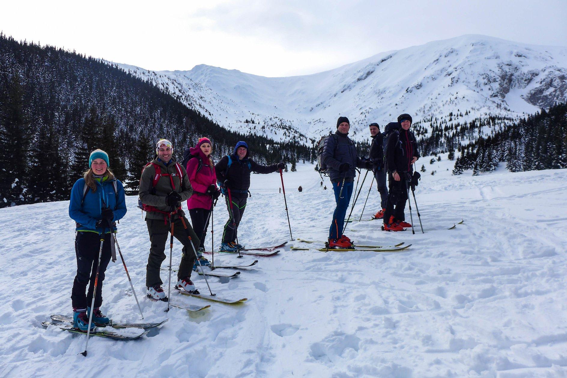 W drodze na Przełęcz pod Kopą Kondracką - Fot. Ania Figura - ski-alpinizm.pl