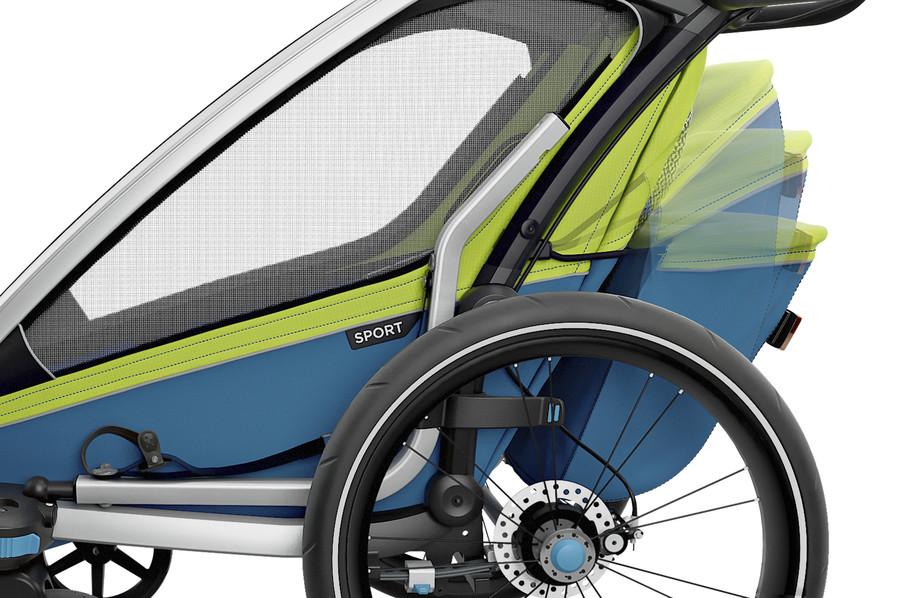 Thule Sport - przyczepka rowerowa dla dzieci