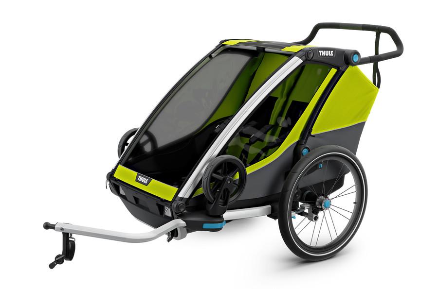 Thule Cab 2 - przyczepka rowerowa dla dzieci