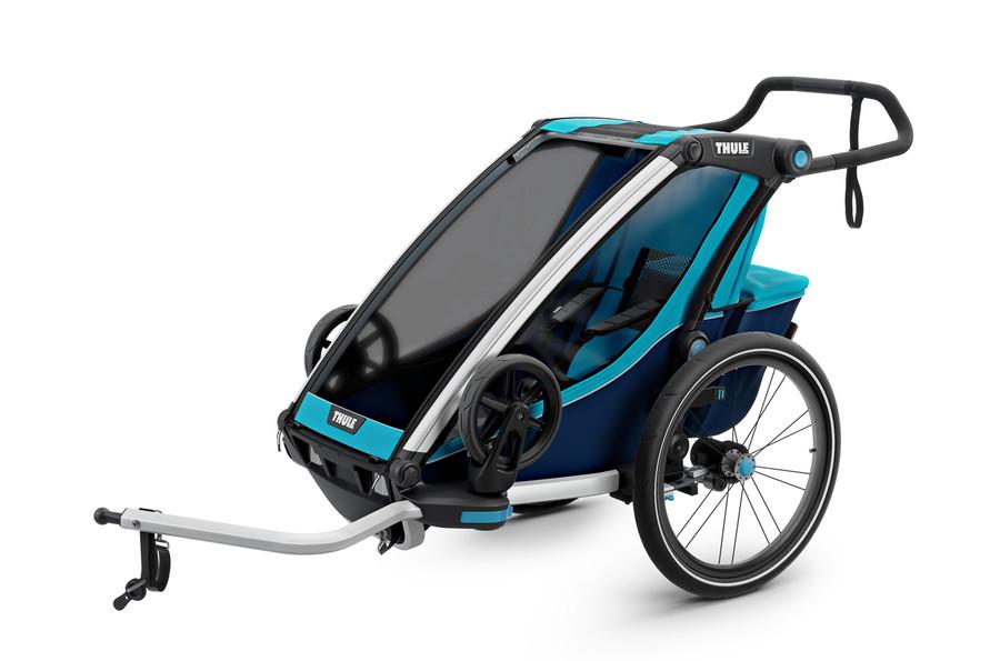 Thule Cross - przyczepka rowerowa dla dzieci