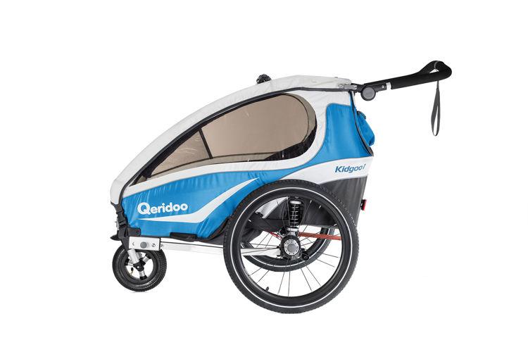Qeridoo KidGoo 2018 - przyczepka rowerowa