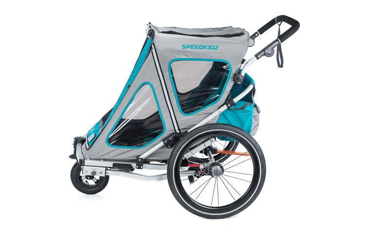 Qeridoo SpeedKid 2 2018 - przyczepka rowerowa