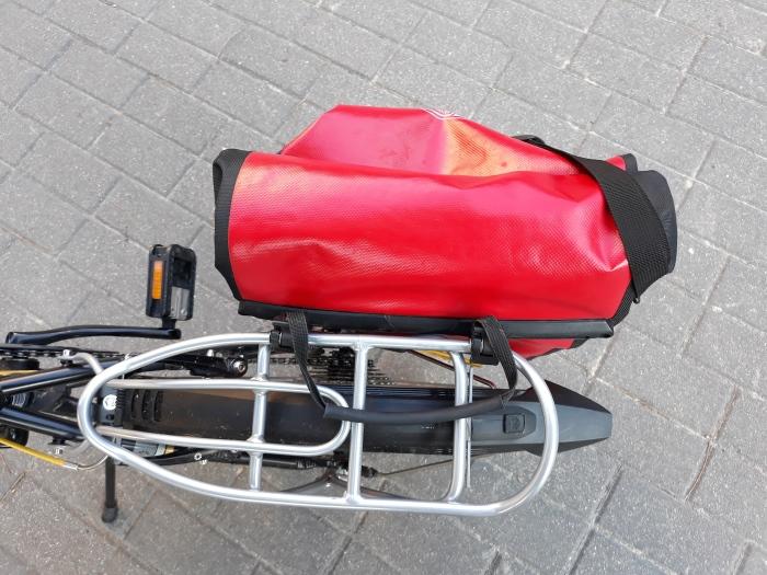 """Sakwy Ortlieb Back ROller City pasują także do roweru składanego Dahon Vitesse D8 na kołach 20"""""""