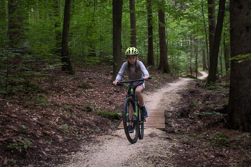 Frog 72 MTB na górskich single trackach - fot. Tomasz Gurdziołek.