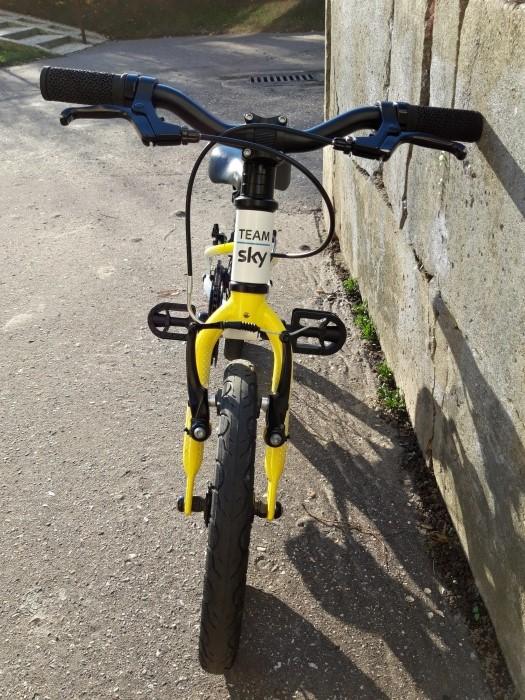 """Kierownica lekkiego roweru dla dzieci Frog 14"""""""