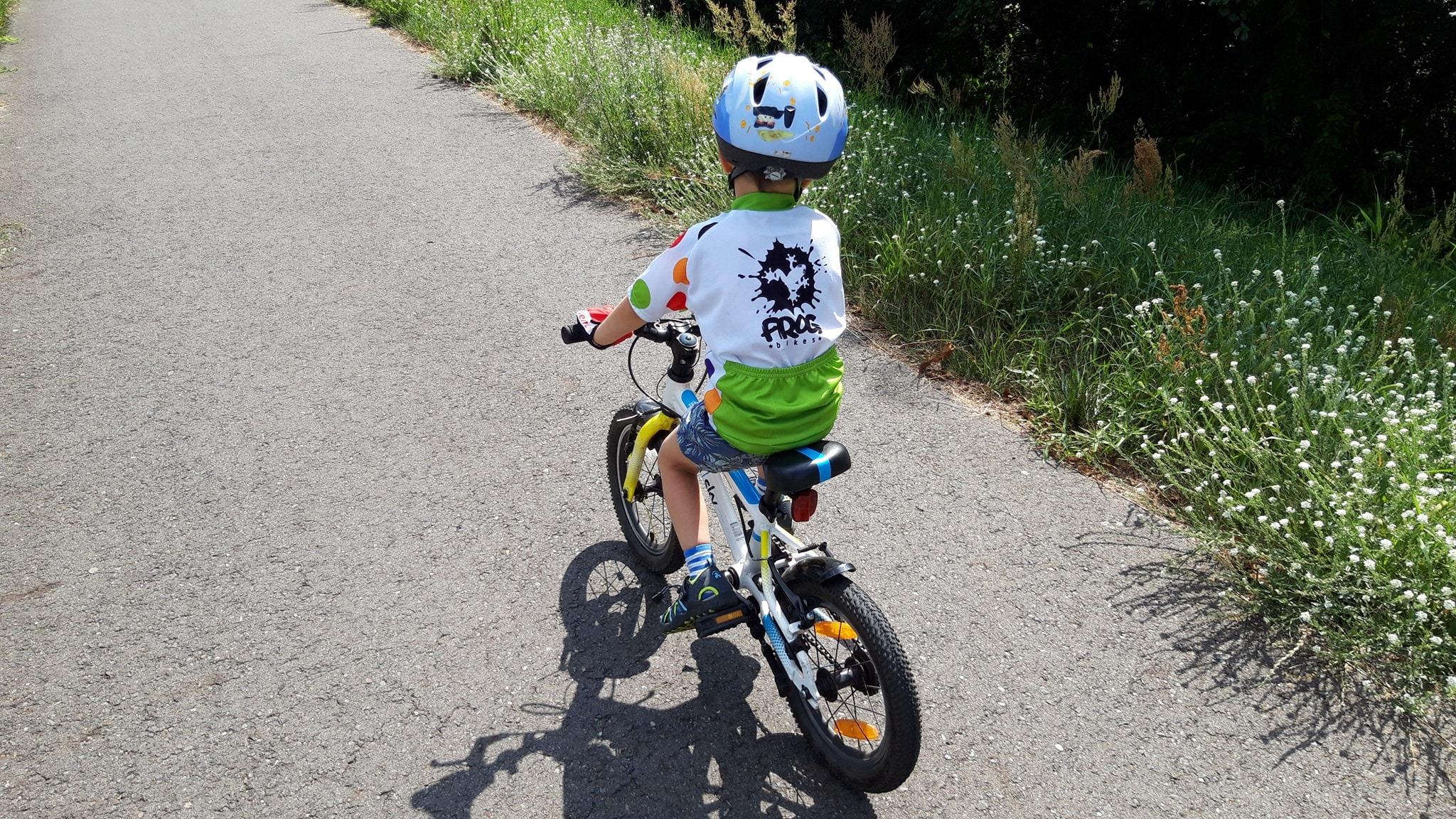 """Frog 40 - lekki rower dla dziecka na kołach 14"""""""