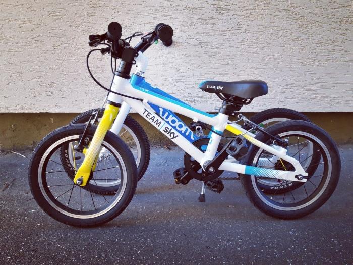 """Woom i Frog na kołach 14"""" - lekkie rowery dla dzieci"""