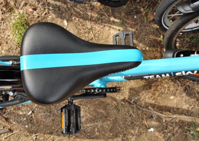 Siodełko w lekkim rowerze Frog 55 - wygodne i szerokie