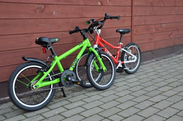 """Frog 48 i WOOM 3 - lekkie rowery dla dzieci na kołach 16"""""""