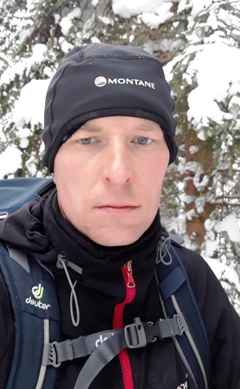 Montane Windjammer podczas wycieczki skiturowej w Tatrach Zachodnich.