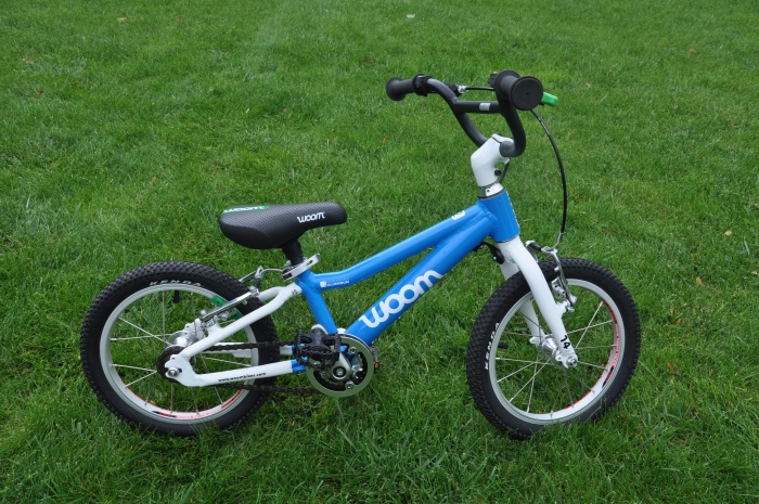 """WOOM 2 - lekki rower dla dziecka na kołach 14"""""""